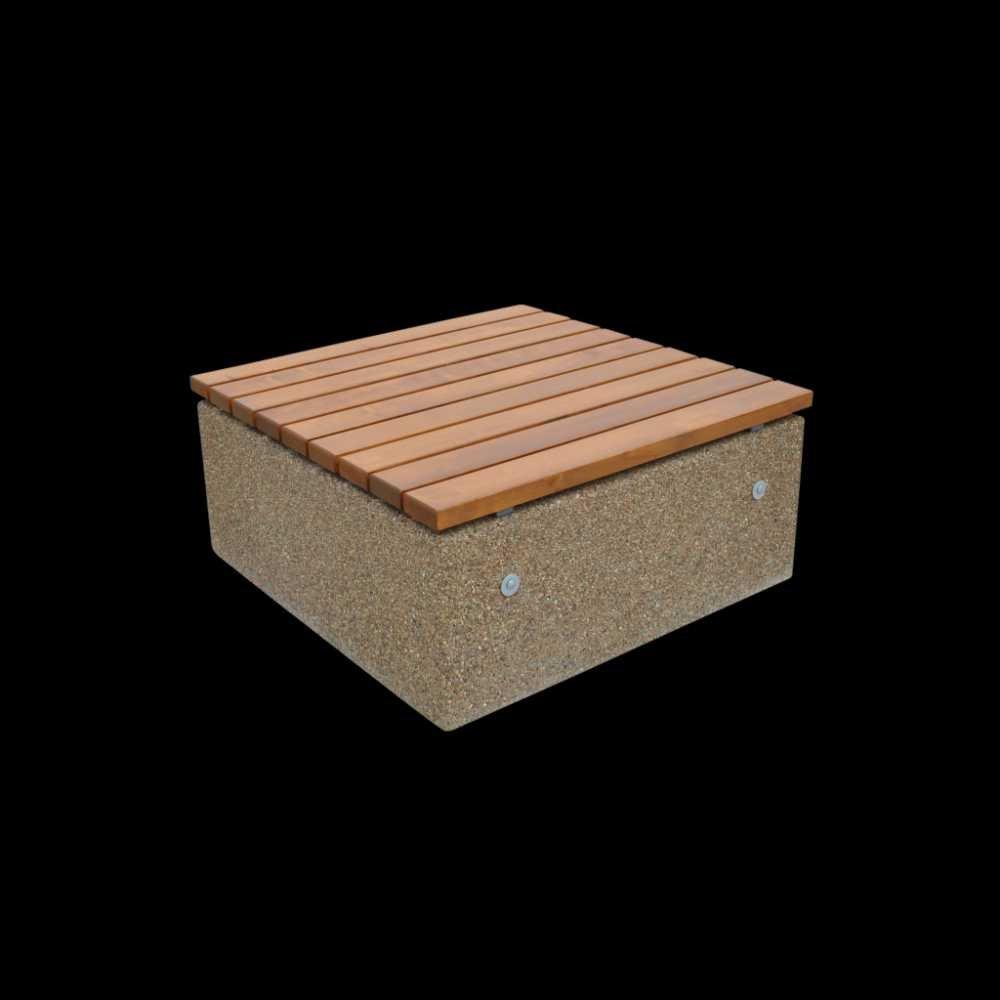 Ława betonowa kwadratowa