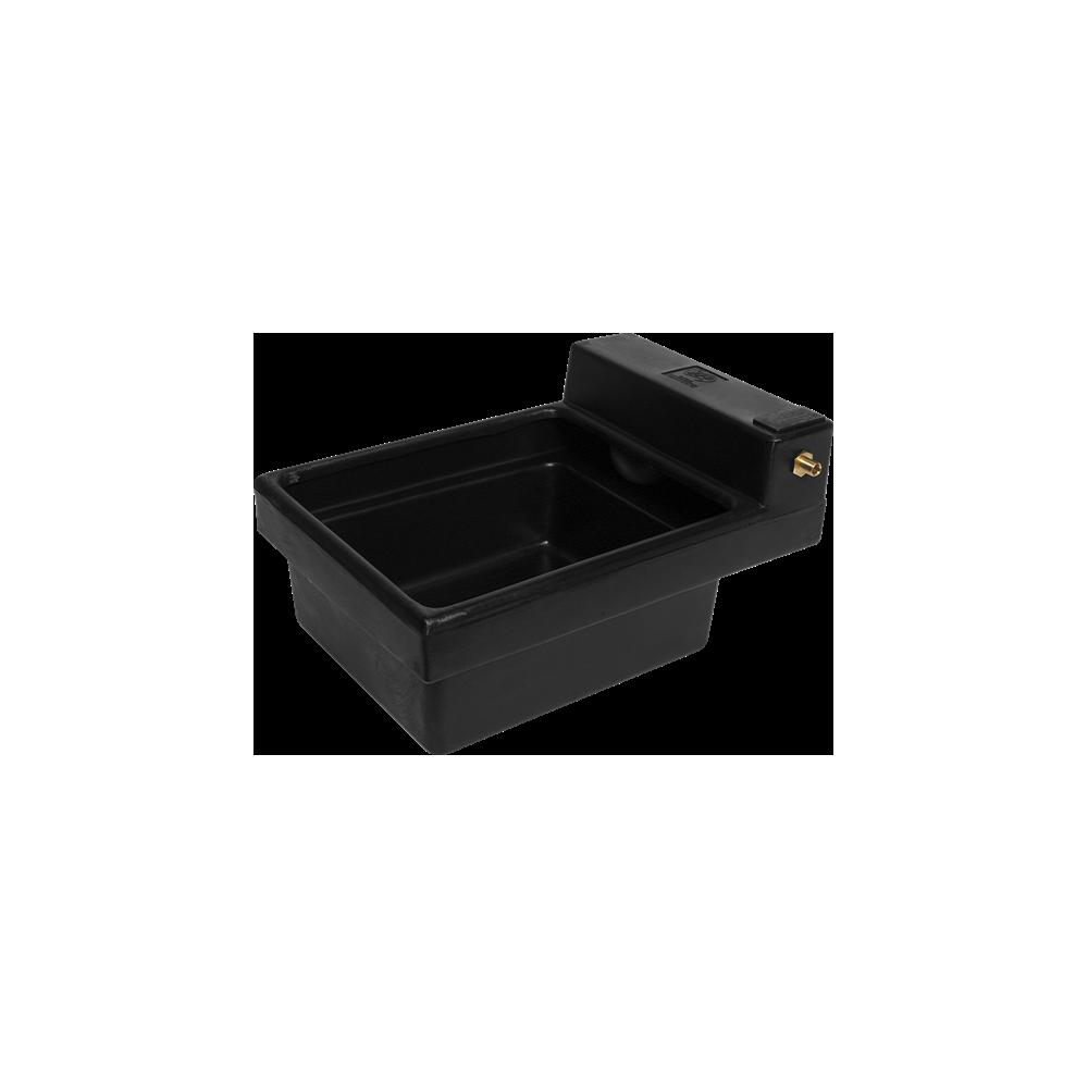 Poidło jednokomorowe 53 L dla zwierząt czarne
