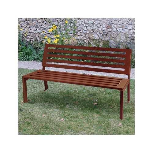 Ławka i krzesło ogrodowa parkowa miejska Stalowe Silaos