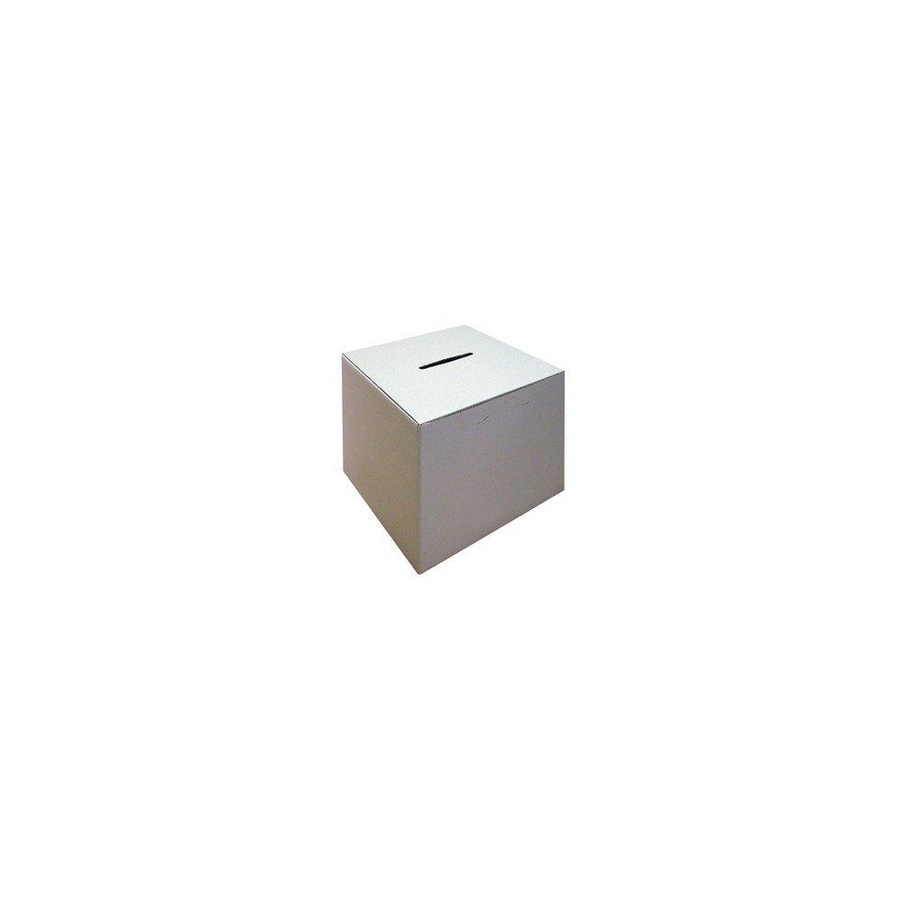 Urny wyborcze kartonowe 40x40x40 cm do głosowania