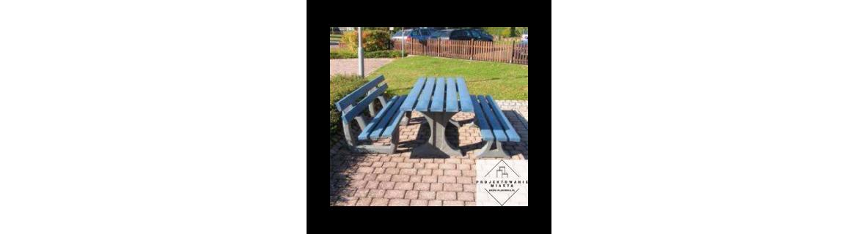 Stoły piknikowe drewniane, metalowe i betonowe duży wybór