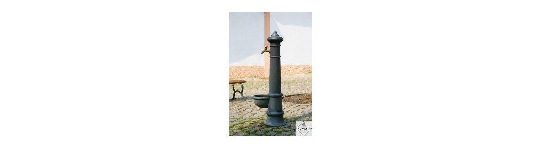 Hydranty zewnętrzne ozdobne i tradycyjne do podłączenia wody miejskiej. Zamów online