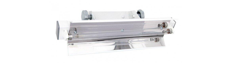 Lampy bakteriobójcze przepływowe, bezpośredniego działania z dostawą